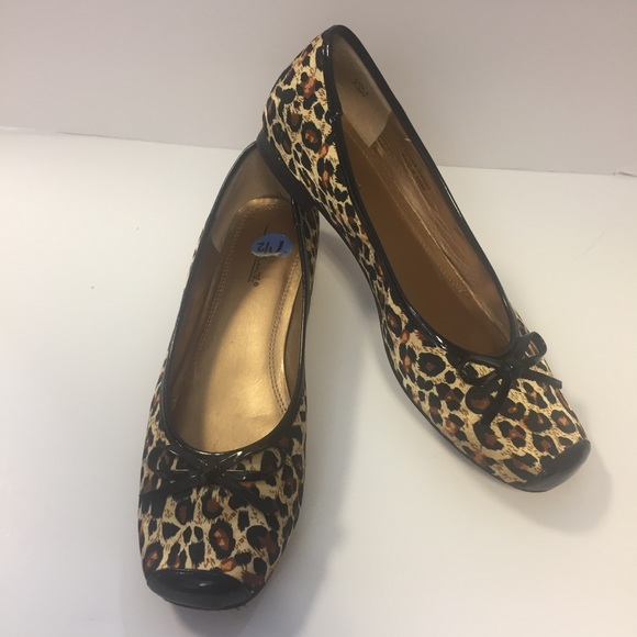 Willi Smith Shoes | Leopard Print Flats